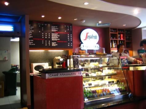 Segafredo Zanetti espresso in Paris