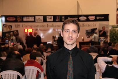 campionto italiano baristi caffetteria Giacomo Vannelli