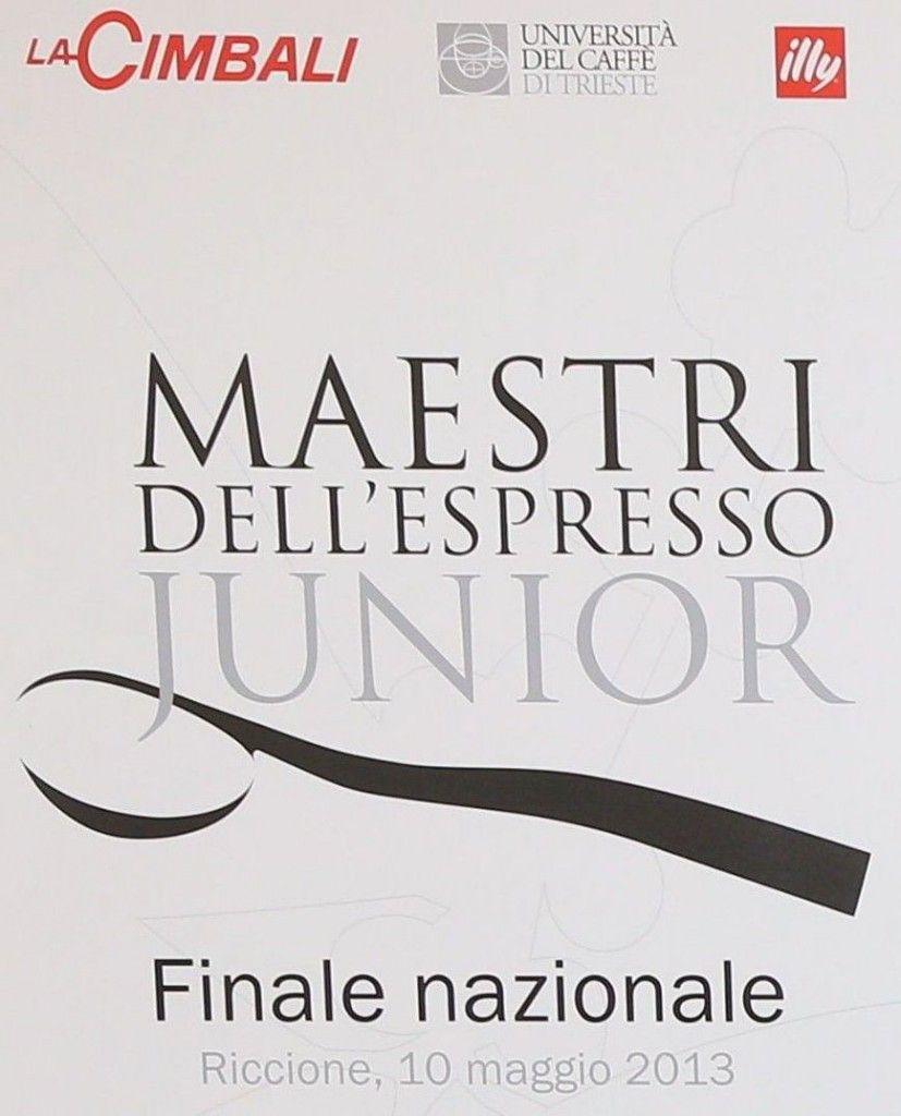 maestri dell'espresso junior