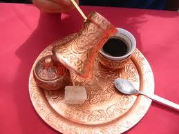 caffè alla turca bar belgrado preparazione