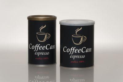 bidoni per la conservazione del caffè verde