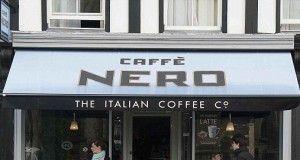 Brexit Una caffetteria Caffè Nero