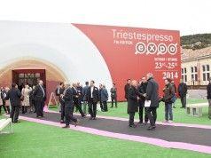 L'ingresso di Triestespresso expo edizione 2014