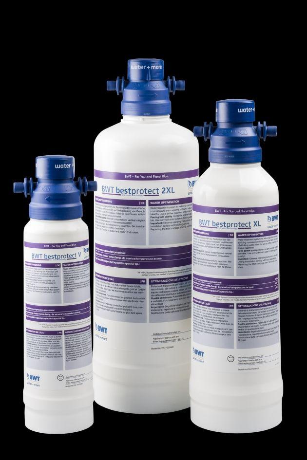 Cartucce BWT per il trattamento dell'acqua