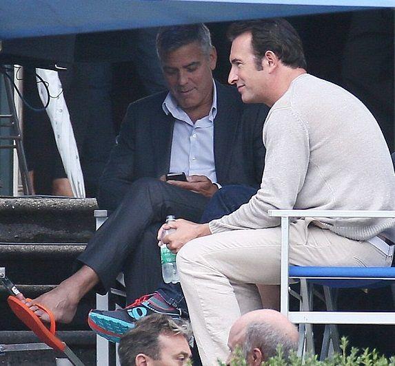 Villa Erba Clooney Con Amal Spot Nespresso Superblindato: Torna George Clooney Con Le Infradito