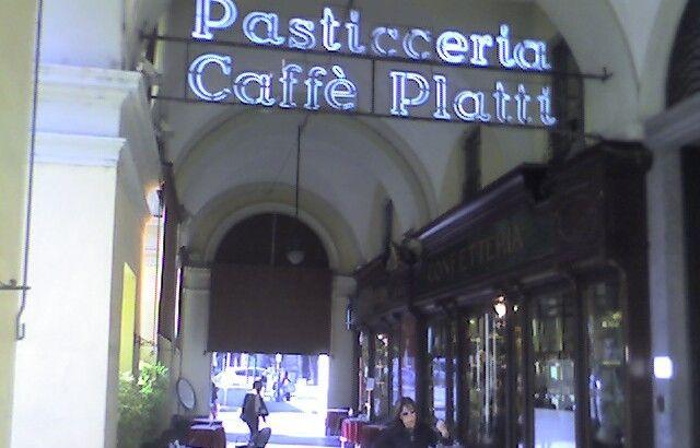 Il caffè Platti in Galleria a Torino
