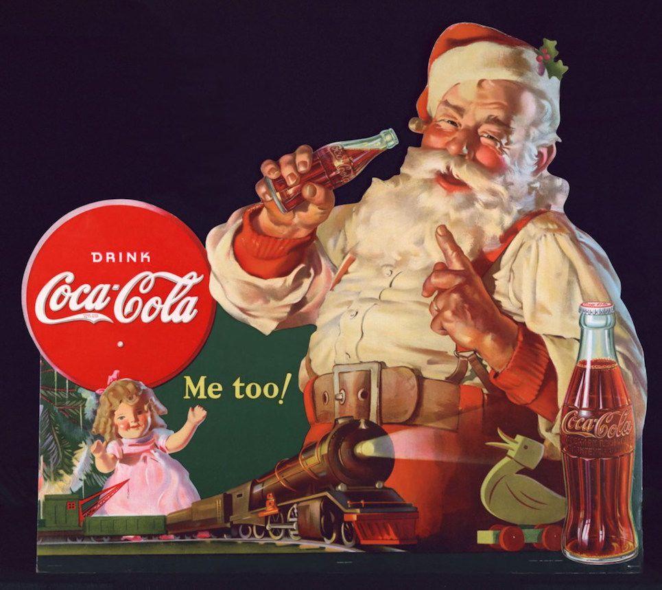 Chi Invento Babbo Natale.Scrive Roberto Cotroneo E Un Giorno La Coca Cola Invento Il Natale Comunicaffe