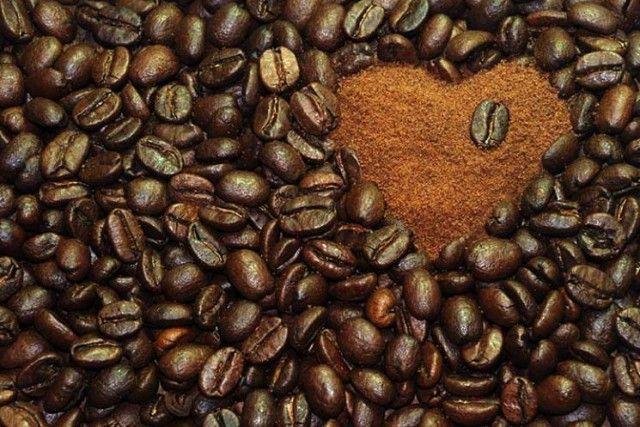 caffè cuore macinato