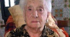 Giulia Mazzarellla 105 anni