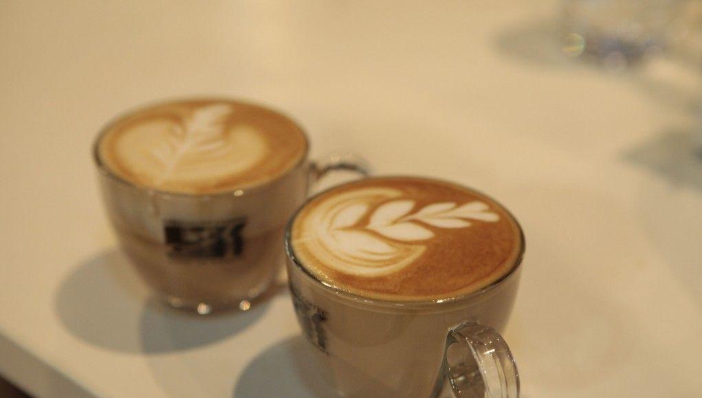 Matteo Beluffi Latte art