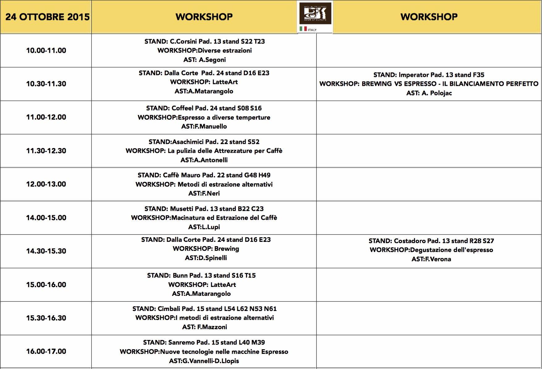 Verso host scae italia il programma completo dei workshop for Programma per disegnare le planimetrie gratuitamente