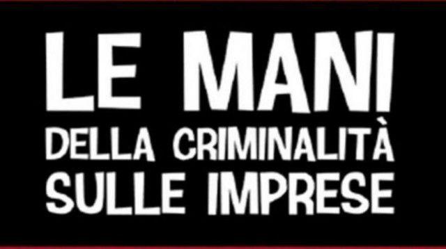 mani criminalità imprese