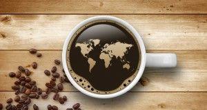 mondo planisfero caffè espresso