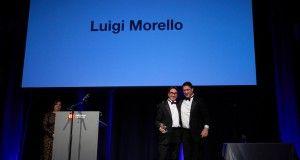 luigi Morello (Gruppo Cimbali) e Nuova Simonelli premiati agli European Coffee Awards