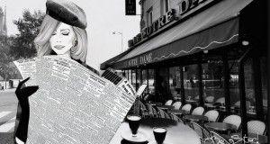 giornale letto al bar
