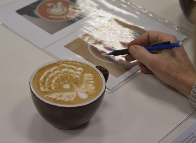 Latte Art Grading Battle