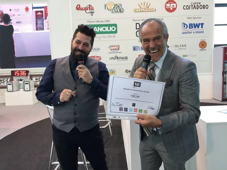 Luigi Lupi davide Cobelli premio Trainer dell'anno