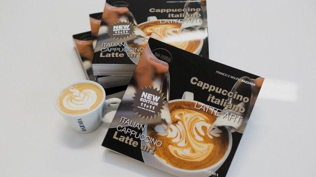 bazzara cappuccino latte art
