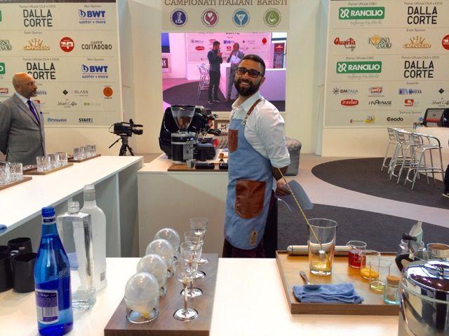 angelo segoni campione italiano caffetteria SCAE