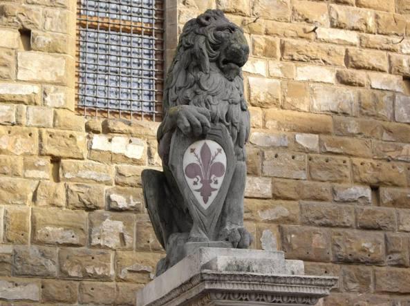 Il marzocco a Firenze (copia)