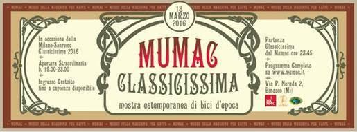 MUMAC CLASSICISSIMA