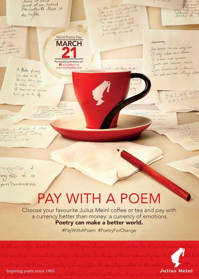 Julius Meinl giornata poesia