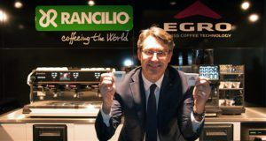 Giorgio Fortini Ceo Rancilio Group con i marchi Egro e Rancilio