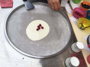 preparato liquido con lamponi