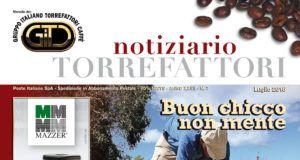 copertina notiziario torrefattori italiano luglio