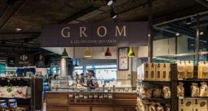 Grom Carrefour gourmet