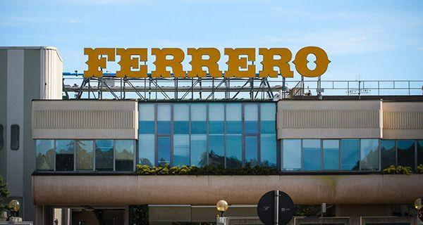 stabilimento sede Ferrero Alba
