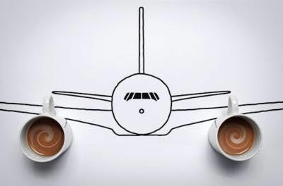 aereo della vita ha due espressi al posto dei motori