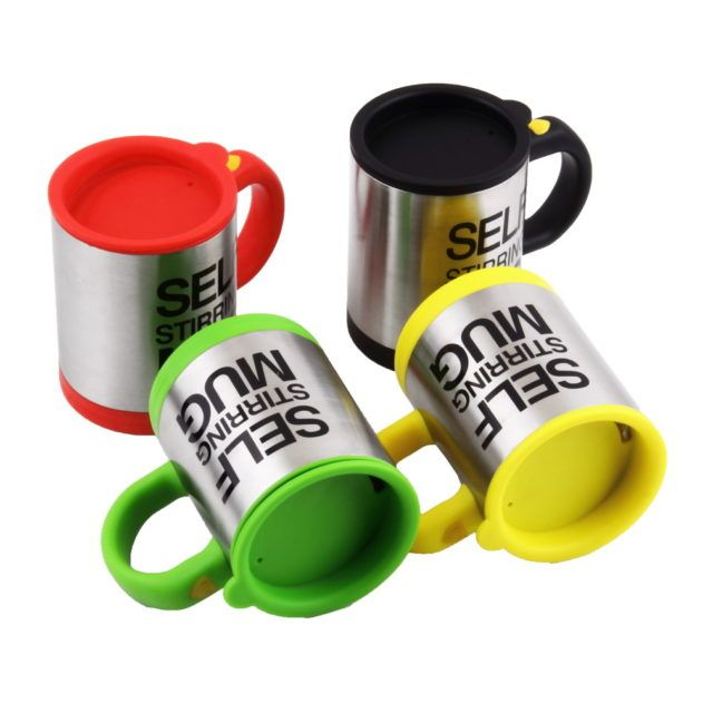 self stirring mug tazza