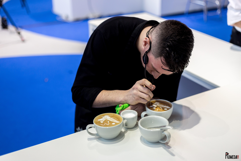 matteo beluffi latte art 2017