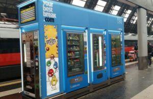 Ivs Group Un distributore di Ivs in una stazione ferroviaria