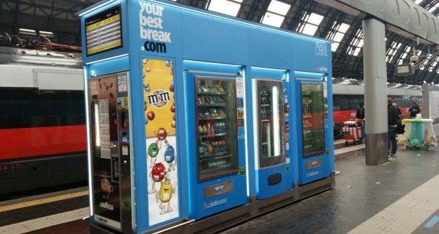 Ivs Group: دستگاه فروش اتوماتیک شماره 1 در ایتالیا در سکوهای ایستگاه مرکزی میلان
