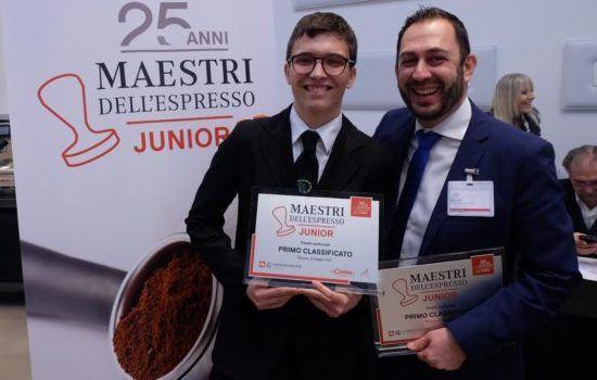 maestri espresso junior vincitore Cevenini