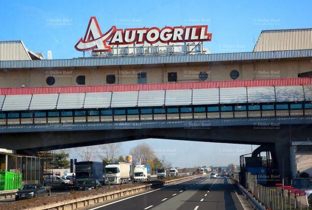 L'iconico Autogrill di Novara