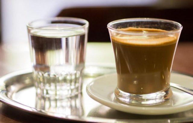 acqua caffè