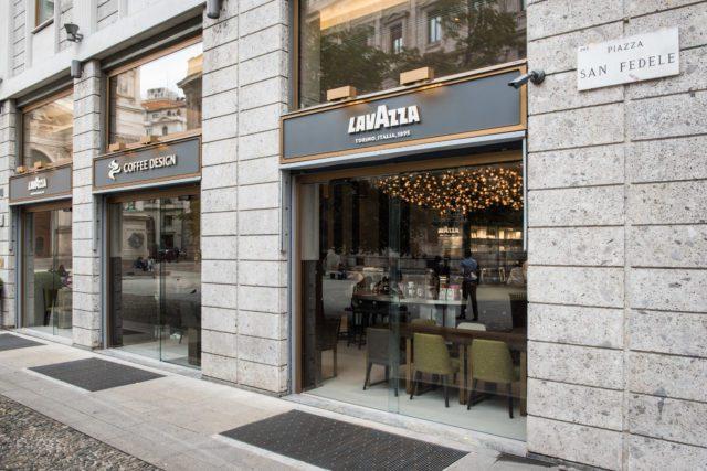 Milano espresso lavazza flagship store