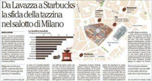 lavazza mappa caffè milano