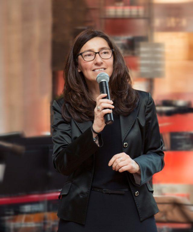 Simona Colombo, Group Marketing and Communications Director Gruppo Cimbali