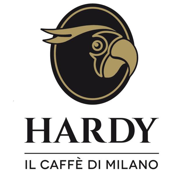 Il logo completo di Caffè Hardy