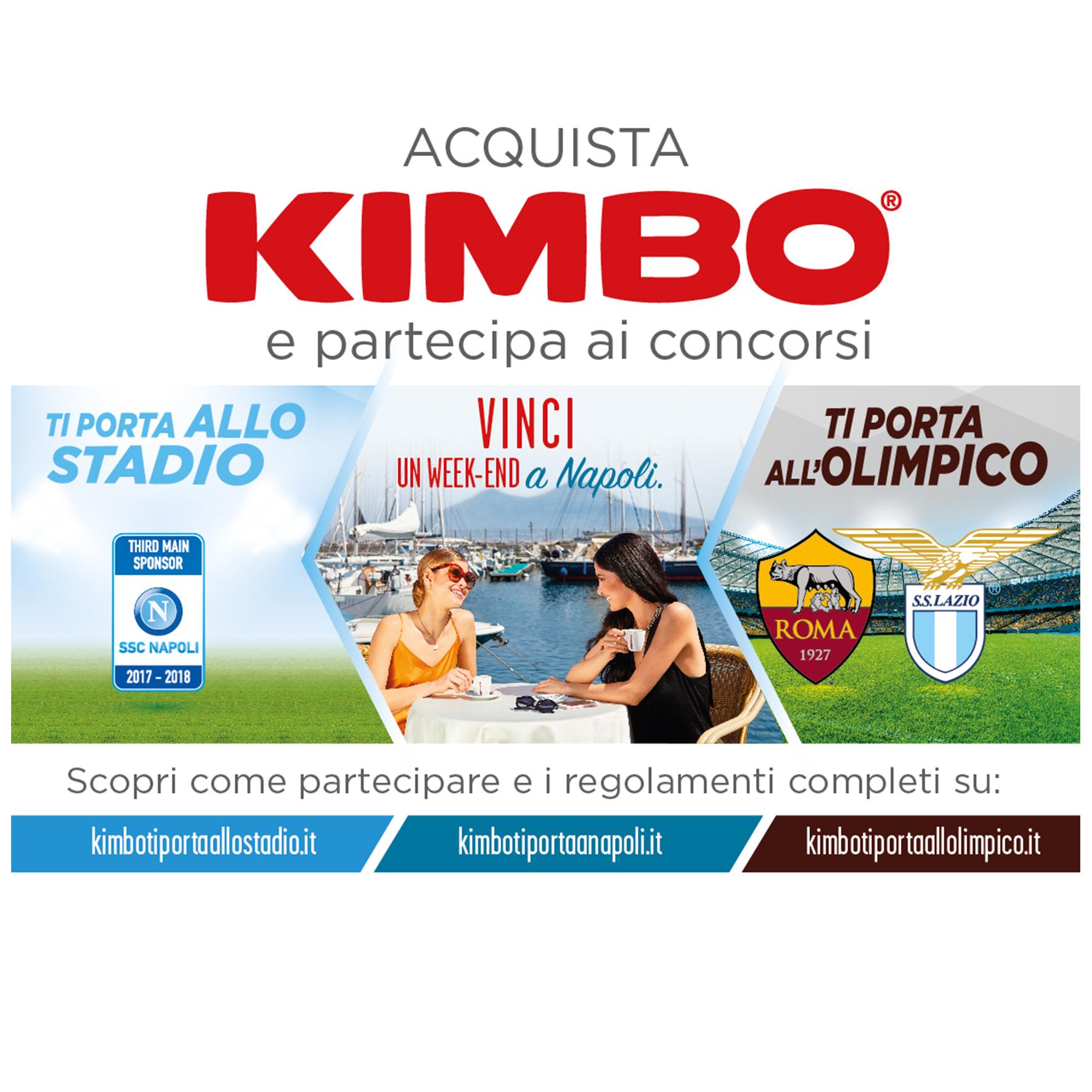 Caff napoletano kimbo organizza tre concorsi in suo onore for Concorsi parlamento italiano 2017