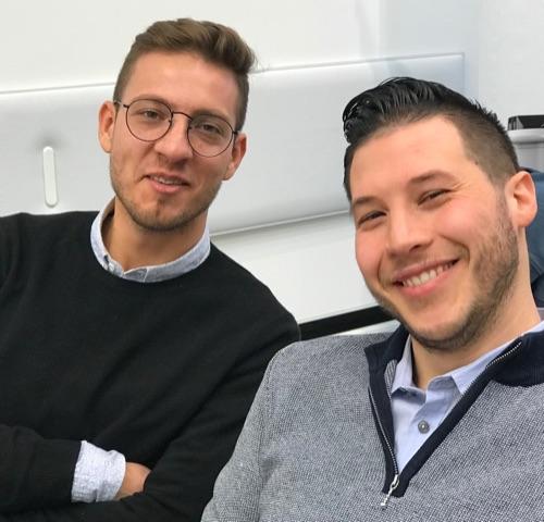 Giacomo Vannelli e Matteo Beluffi