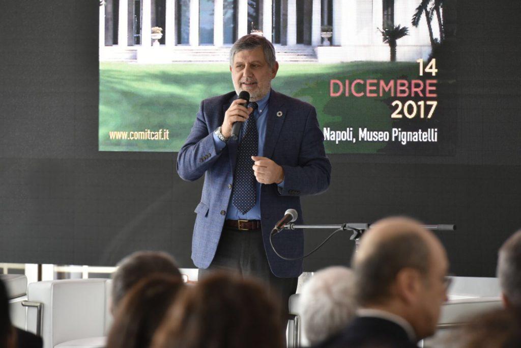 Mario Cerutti presidente Comitato Italiano del caffè
