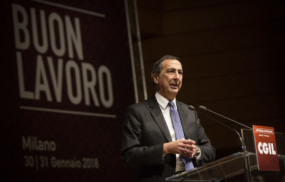 Il sindaco di Milano Giuseppe Sala foto Simona Caleo