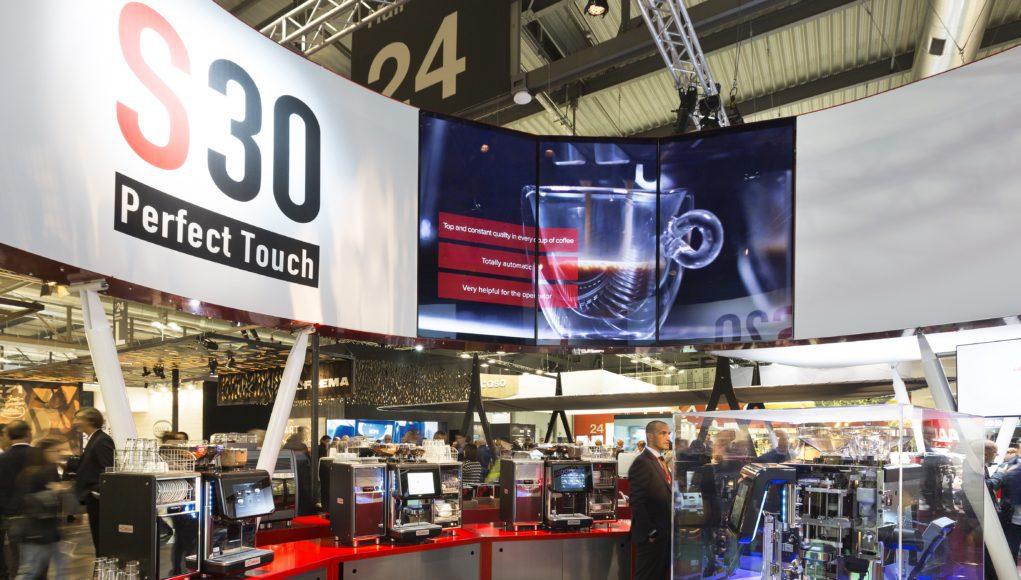 Stand Gruppo Cimbali superautomatiche s20 e s30
