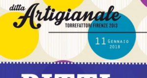 Il manifesto che annuncia la Pitti night di Ditta Artigianale a Firenze