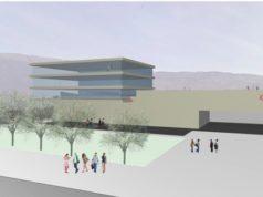 Il rendering del progetto del nuovo stabilimento Roncadin: sarà ecosostenibile e visitabile
